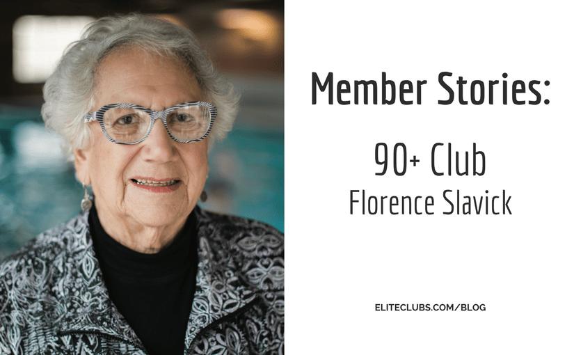 90+ Club - Florence Slavick
