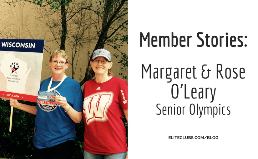 Member Stories - Margaret and Rose O'Leary - Senior Olympics