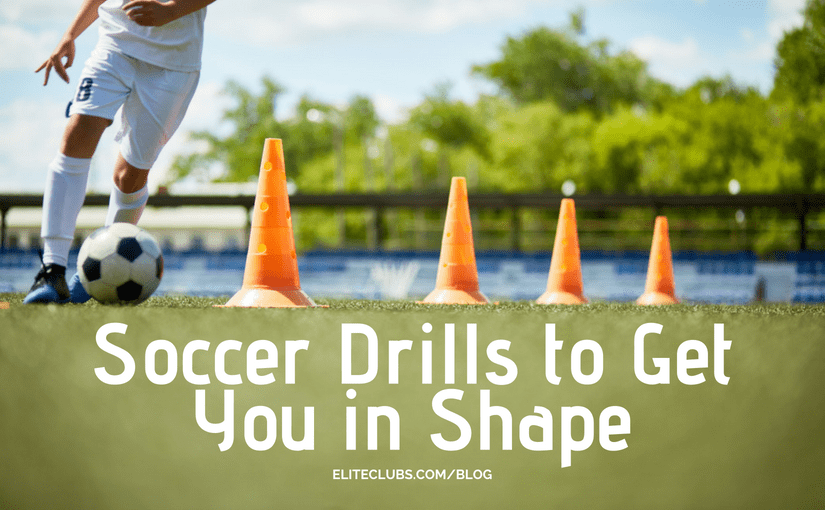 Soccer Drills to Get You in Shape