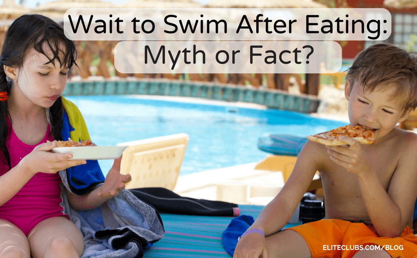 Wait to Swim After Eating - Myth or Fact?