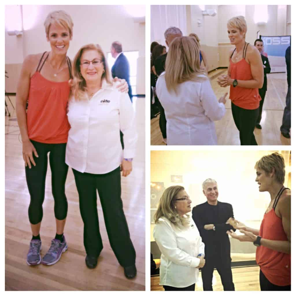 Elite Sports Clubs Owner, Kay Yuspeh meets 5-Time Olympian, Dara Torres