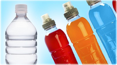 water and sports drinks