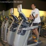 Runner Parker Rios on Elite Elliptical