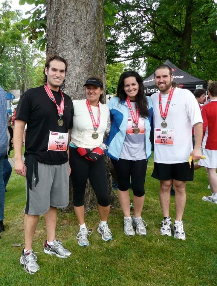 Alex's First Half Marathon