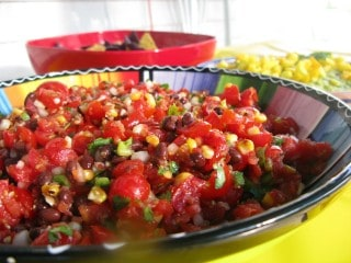 Quick Easy Black Bean Salsa