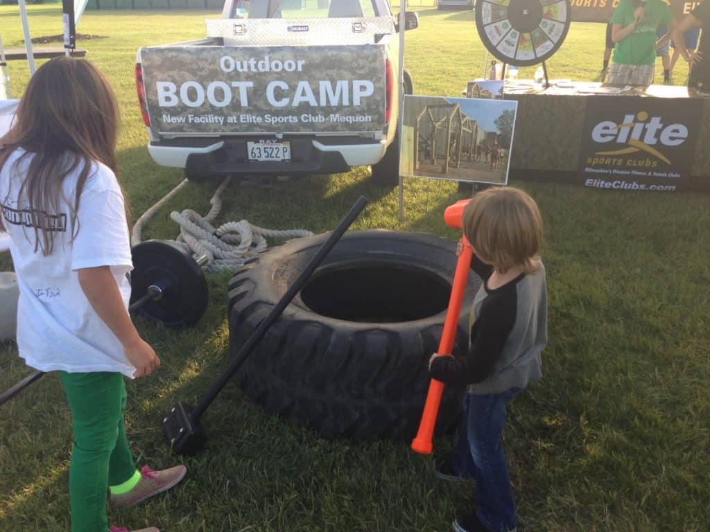 Elite Boot Camp Demo Participants