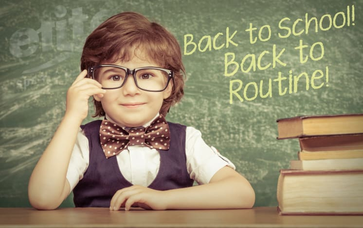Image result for back to school routine