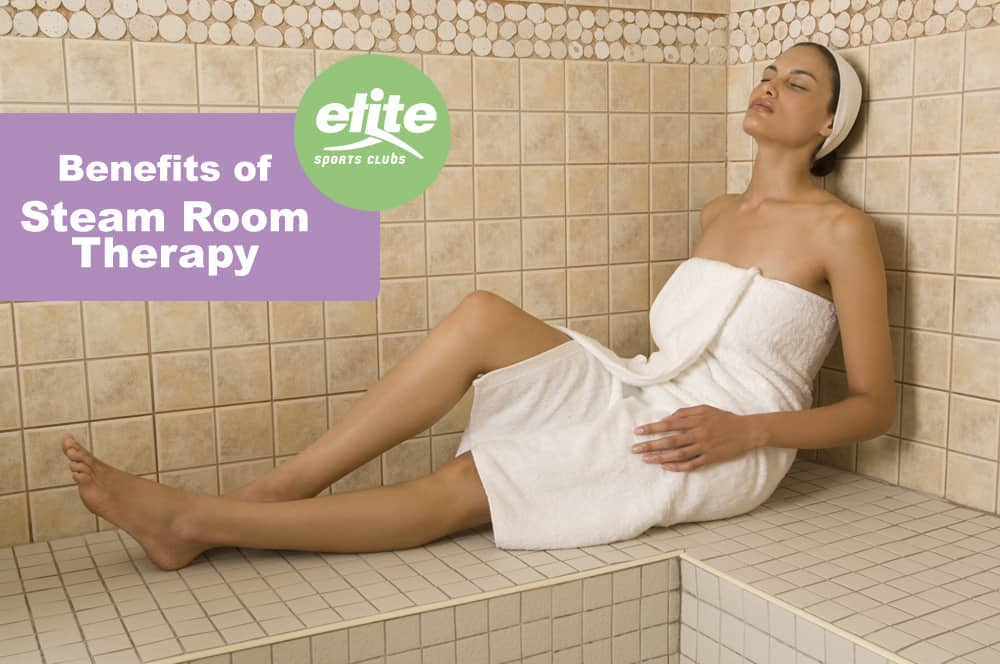 Benefits of Steam Room Therapy-Elite Sports Clubs