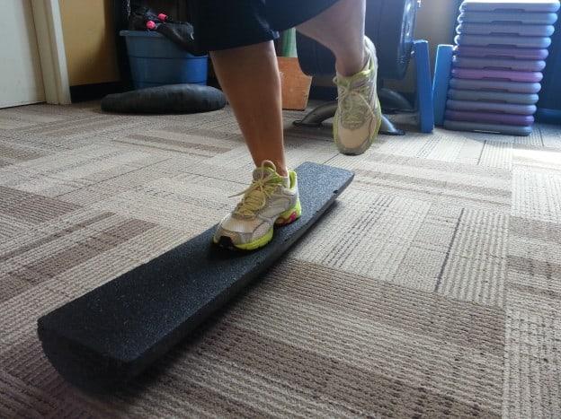 Bernie Half Foam Roller Balance