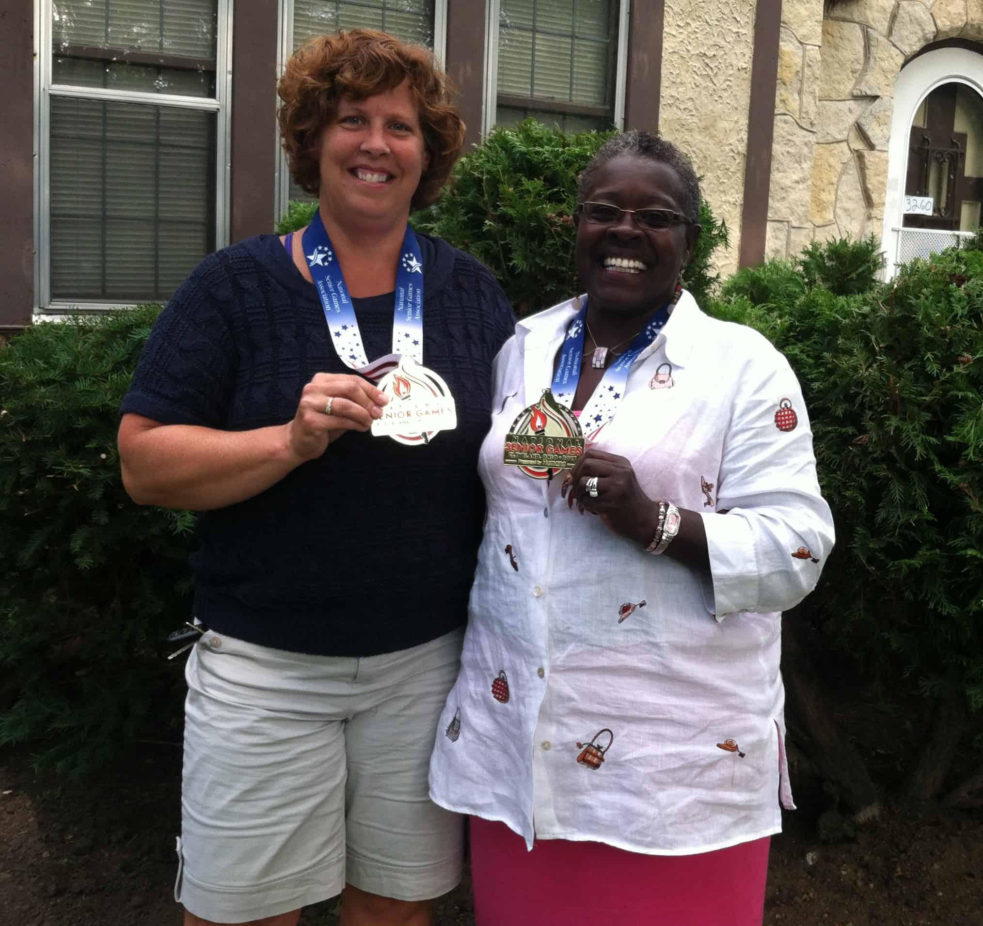 Pam Tullberg and Brenda Cullin