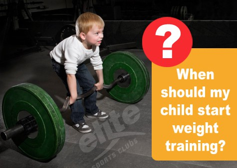 Youth Weight Training Questions