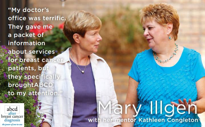 After Breast Cancer Diagnosis Testimonial Mary Illgen
