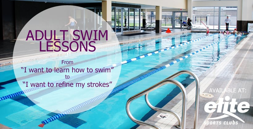 Adult Swim Lessons Available at Elite