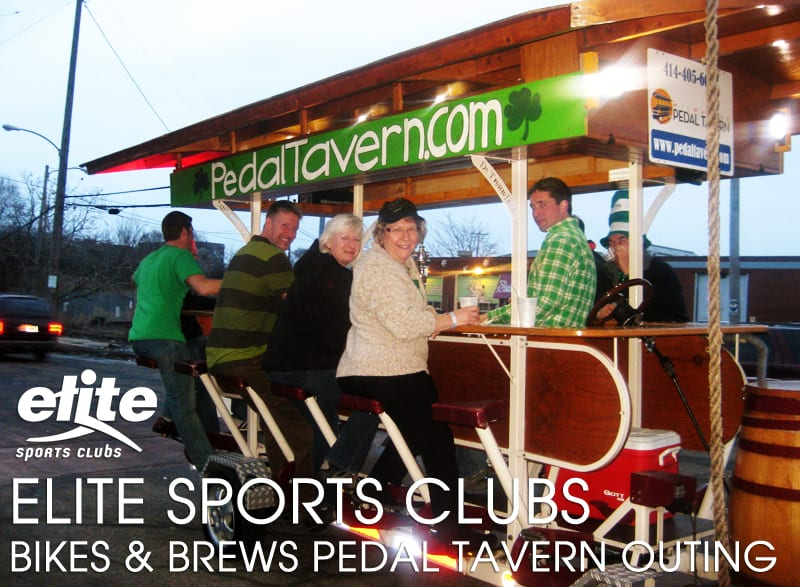 Elite Bikes Brews Pedal Tavern Outing