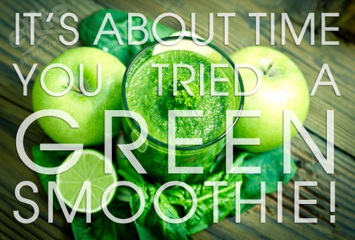 Try a Green Smoothie