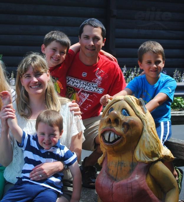Elite Member Trish Meyers and Family