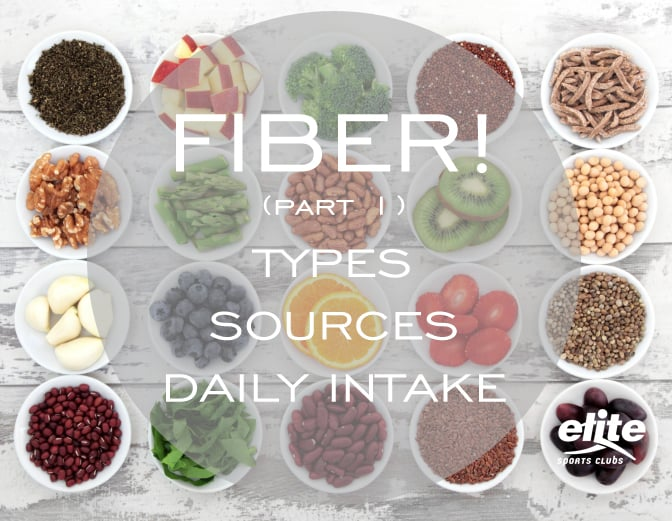 Fiber! Part 1 - Types, Sources, & Recommended Intake