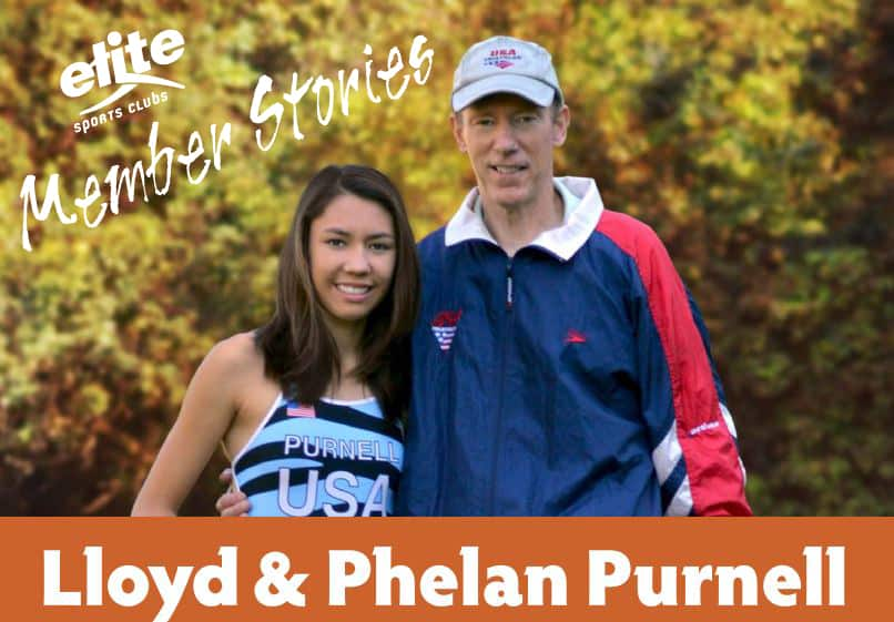 "Member Stories - Lloyd & Phelan Purnell ""A Father-Daughter Support Team"""