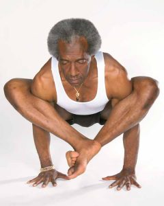 afro american yoga teacher