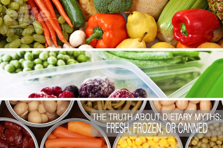 Dietary Myths-Fresh Frozen Canned-Elite Sports Clubs