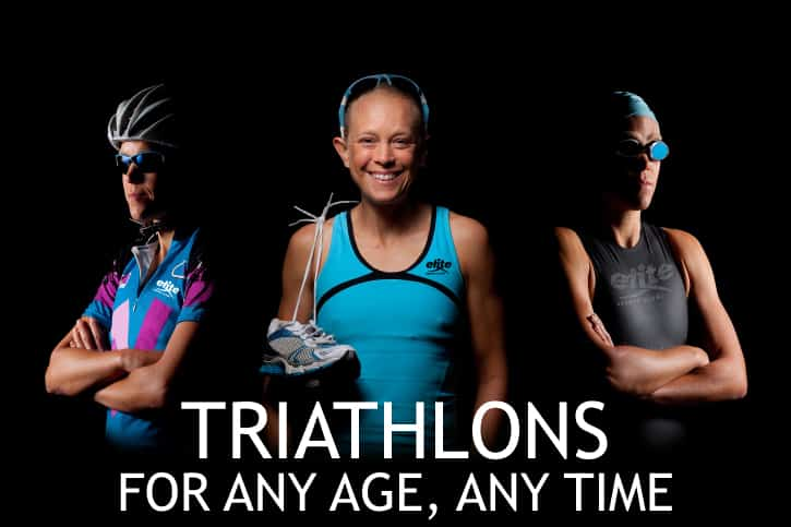 Triathlons: For Any Age, Any Time
