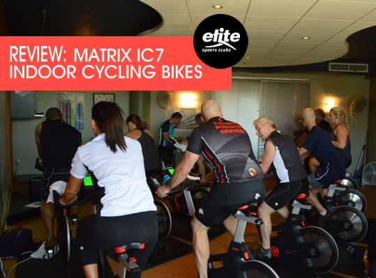 Review - Matrix IC7 Indoor Cycling Bikes