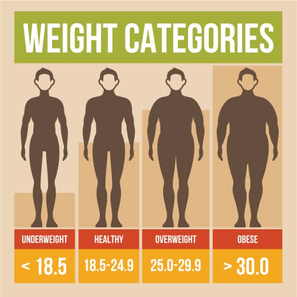 Body mass index poster