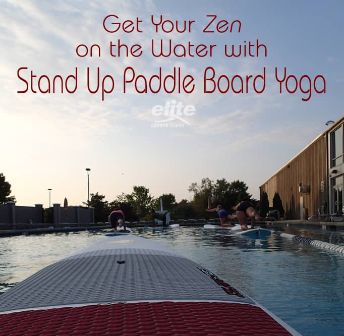 Get Your Zen on the Water with Stand Up Paddle Board Yoga
