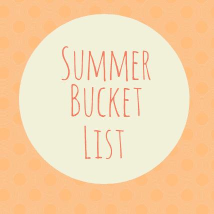 Healthy Summer Bucket List