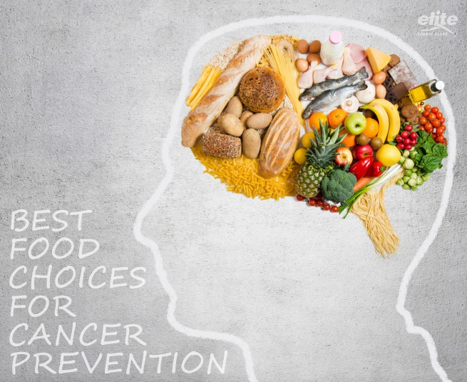 It's a Wrap! Best Food Choices for Cancer Prevention