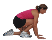 Kneeling Achilles Stretch