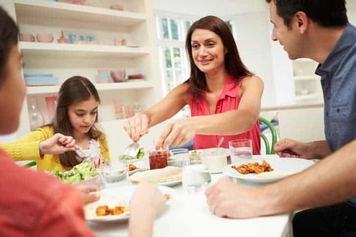 Family-Centered Eating and Healthy Snacks