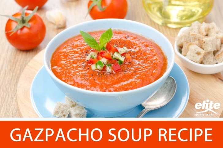Gazpacho Cold Soup Recipe