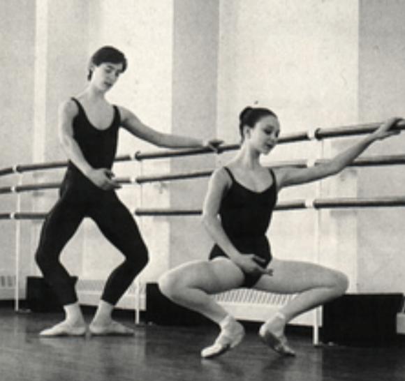 Old Ballet Photo