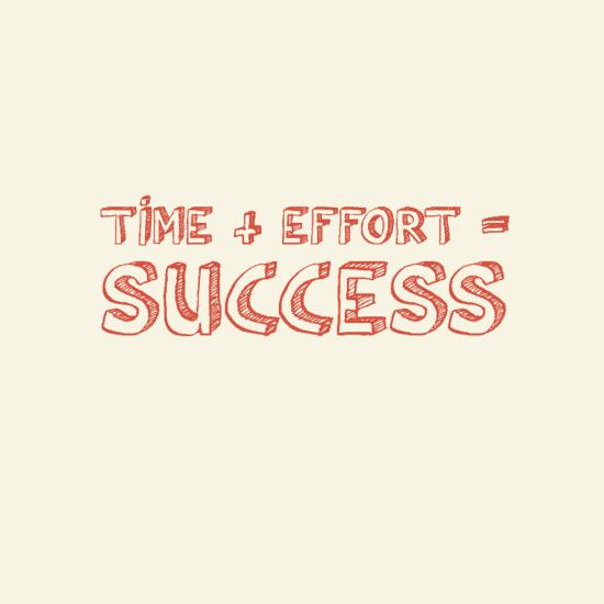 Time Effort Success