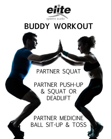 Buddy Workout - 3 Exercises You Can Do With a Partner