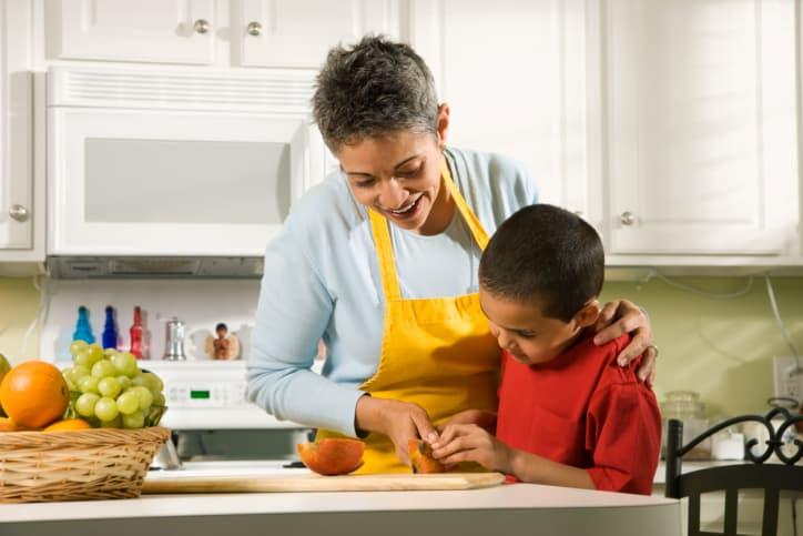 Getting Children Involved in the Kitchen