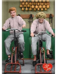 I Love Lucy Bikes, Funny
