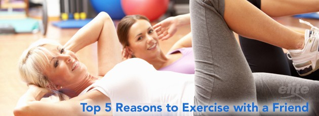 Top 5 Reasons to Exercise with a Friend