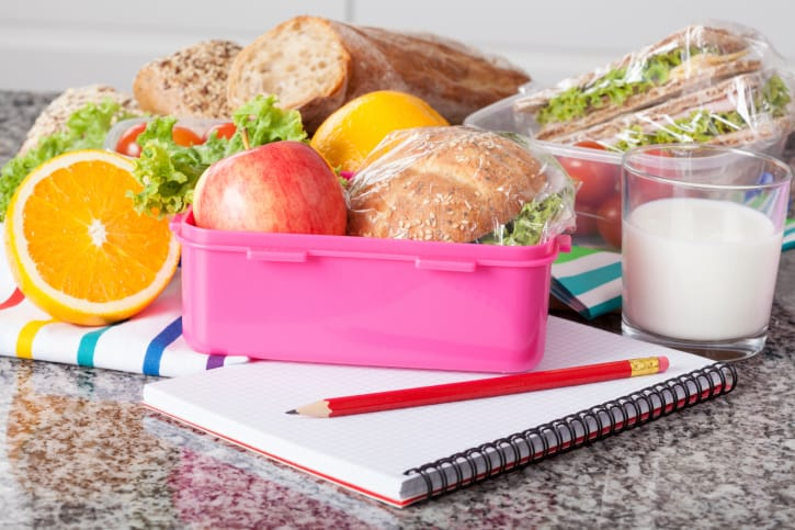 Plan Ahead School Lunch with Your Child
