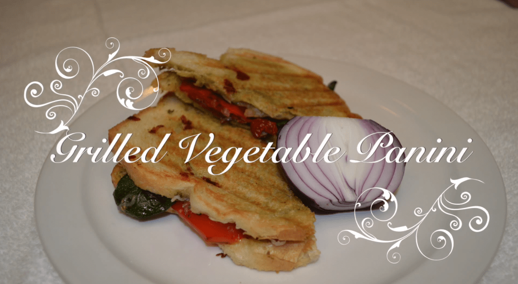 Grilled Vegetable Panini Recipe