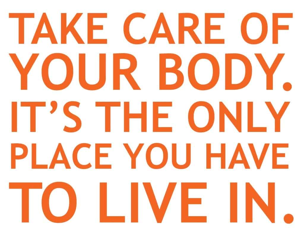 Healthy Body Quote
