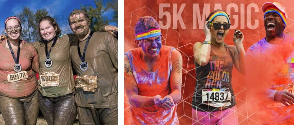 Mud-Color Runners Costume