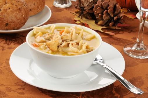 "Turkey ""Off the Bone"" Soup Recipe"