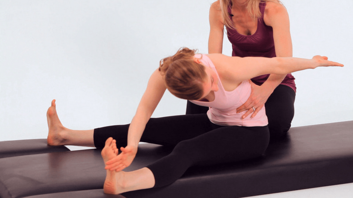 The Saw Pilates Exercise