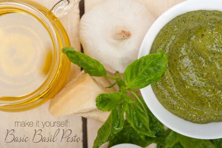 Basic Basil Pesto Recipe