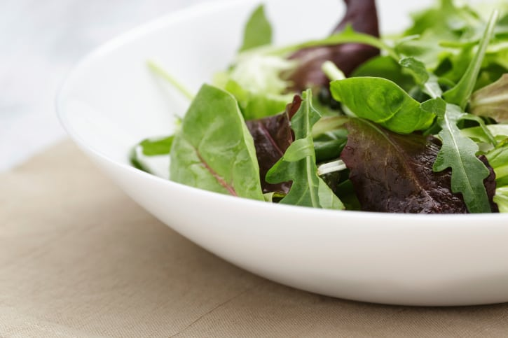 How to Make your own Salad with Mesclun - An Organic Herb Salad Mix
