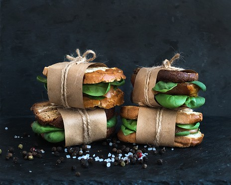 Chicken Herb Sandwhiches