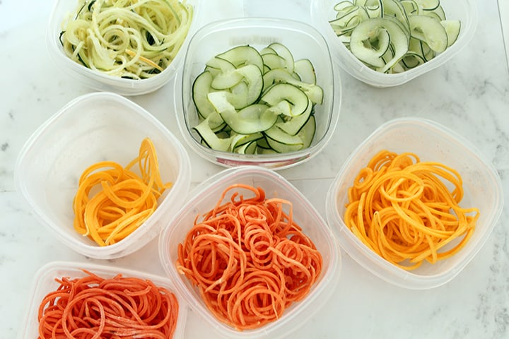 Vegetable Noodles 101 - Cutting the Carbs, Not the Taste