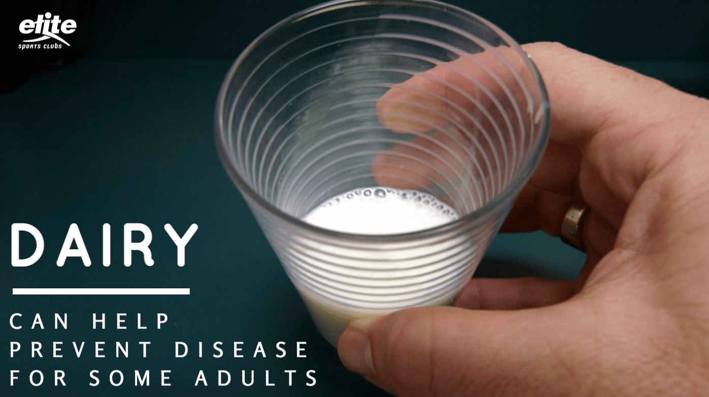 Dairy Can Help Prevent Disease for Some Adults
